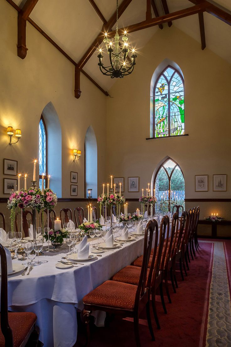 interesting wedding venues ireland%0A Private wedding banquet in Glenlo Abbey Hotel in the   th Century Abbey  http