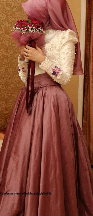 #Hijab Engagement Dress.