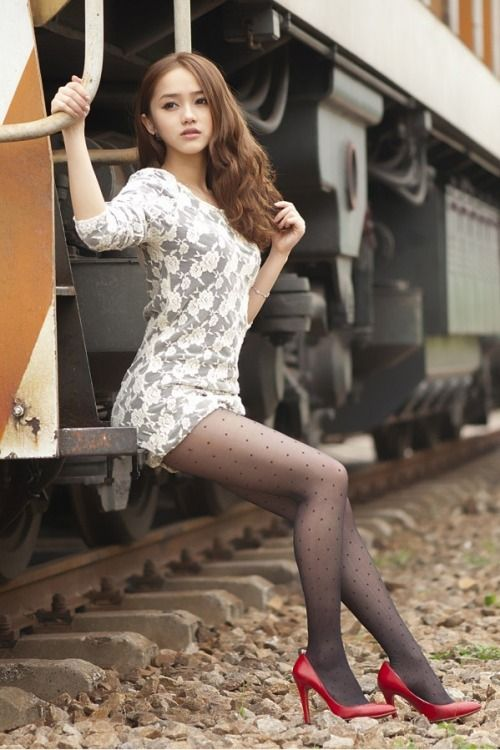Tight And Pantyhose Fashion Inspiration  ,  -9945