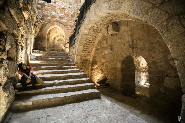 Ajloun Castle Arch Amman Jordan Travel photo
