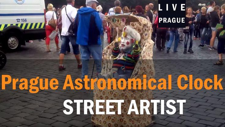 Street Artist Prague - Bebe - Baby - hahahahaah - Funny Artist - Man in ...