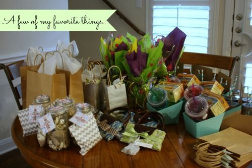 Great night sharing favorite things with friends. Fun and easy party to host in your home, favorite things party.