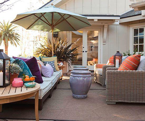 Best 25 beach patio ideas on pinterest beach house deck for Decorated decks and patios