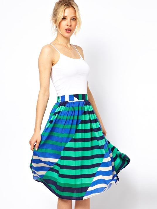 Striped - please send me this skirt @Stitch Fix !