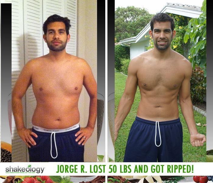 """Lost 50 LBS! Shakeology reviews... Jorge says: """"My health has transformed! Thanks to the help of Shakeology I lost 50 pounds, but even better I have kept it off for good, not like when I used to yoyo diet."""" #ShakeologyResults http://www.tipstoloseweightblog.com/shakeology-reviews-results"""