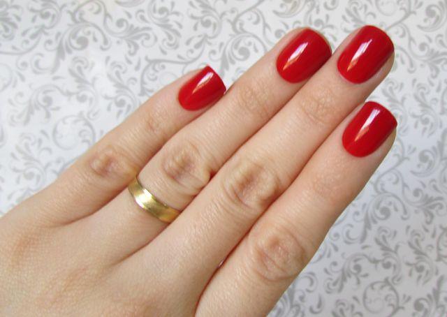 Unhas auto colantes cor #11 Red Carpet - Bisou