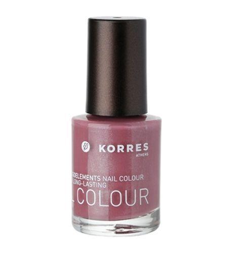 KORRES Nail Polish Colour 77 Delicate Violet | Acetone & Formaldehyde FREE #KORRES #acetonefreenailpolish