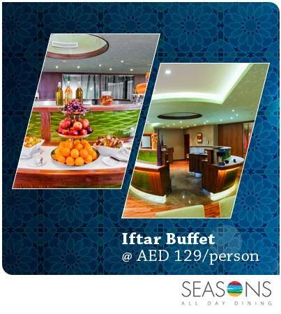 #Authentic #Iftar buffet with Arabic and Indian dishes with your family and friends only at #Seasons.