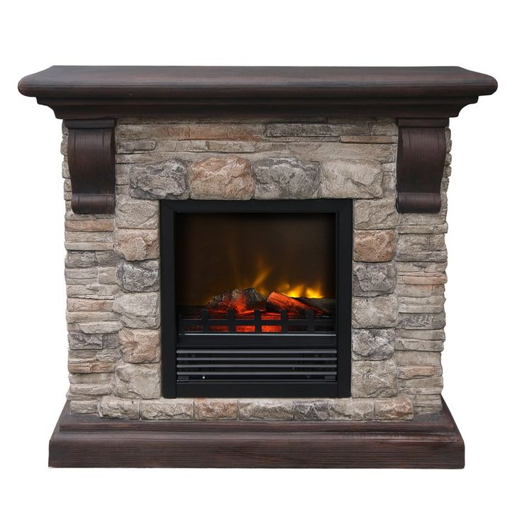 The 25 Best Stone Electric Fireplace Ideas On Pinterest