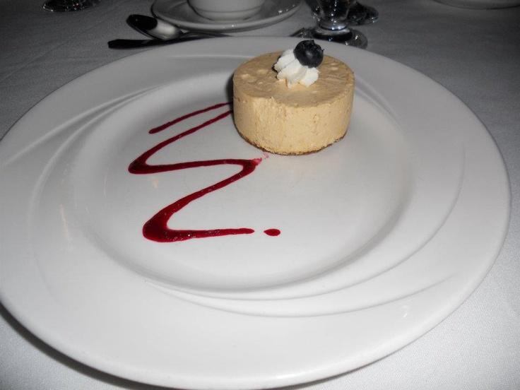 pumpkin cheesecake @ Delta Hotel Winnipeg, MB