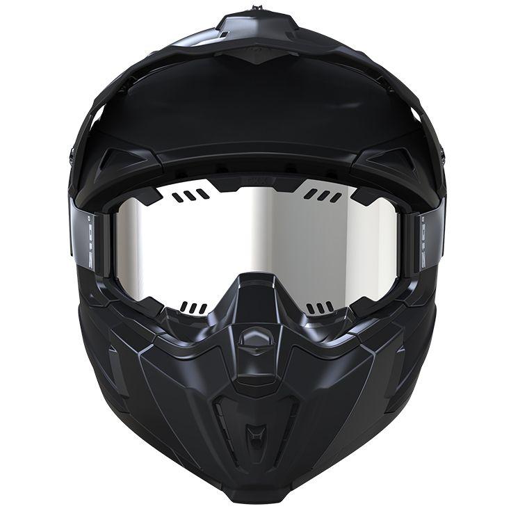 CKX - Off-road winter helmets - TITAN Front view - kimpexnews.com