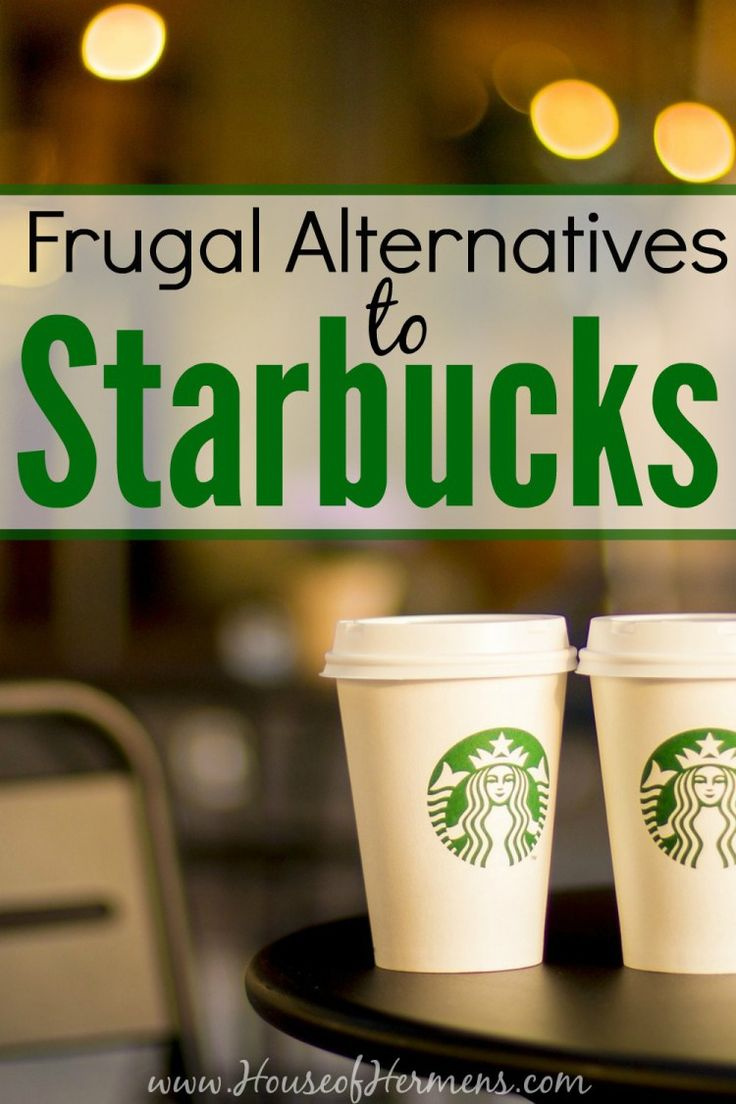 Yes! I have saved over $800 a year on coffee by switching from Starbucks to more budget coffee options! If you love coffee and want to find a delicious but frugal alternative to the green mermaid, you have to read this.