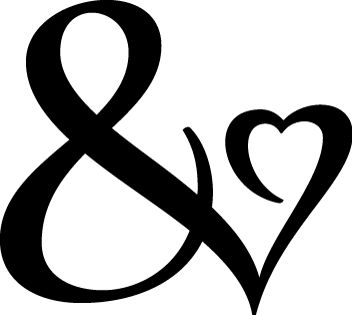 I'm addicted to ampersands, and this ampersand visually shows it!