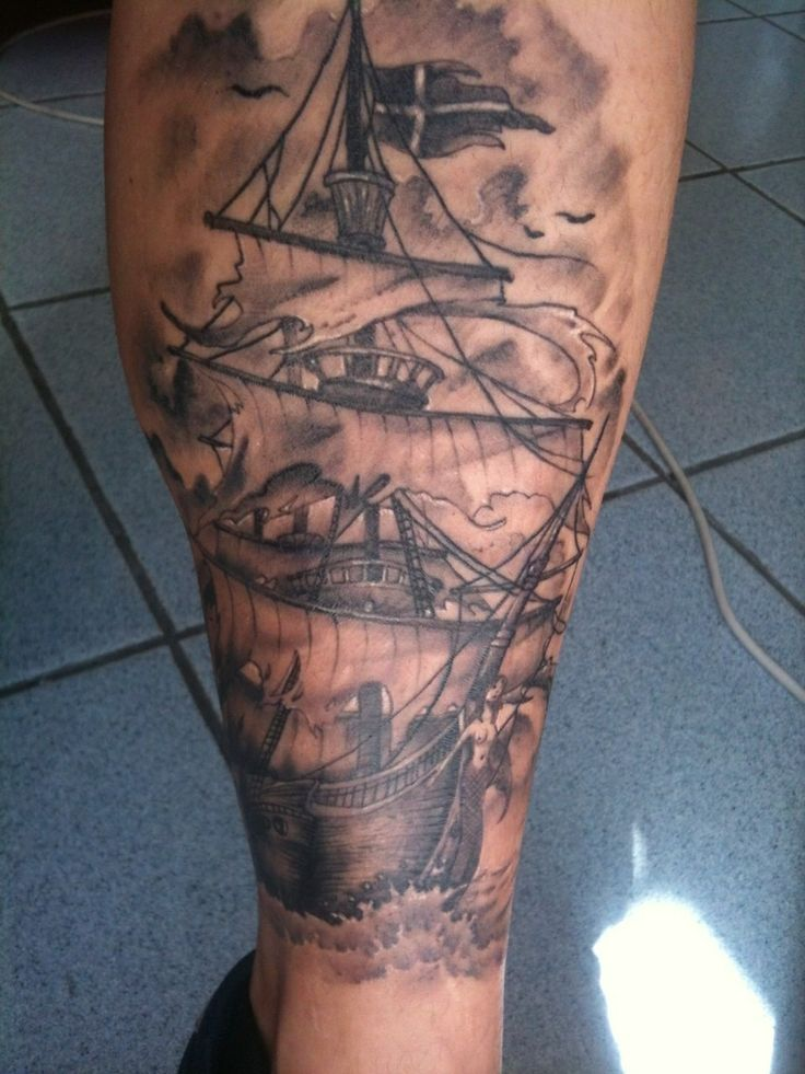 Ghost ship tattoo my tattoos pinterest ghosts ghost for Tattoo pitture