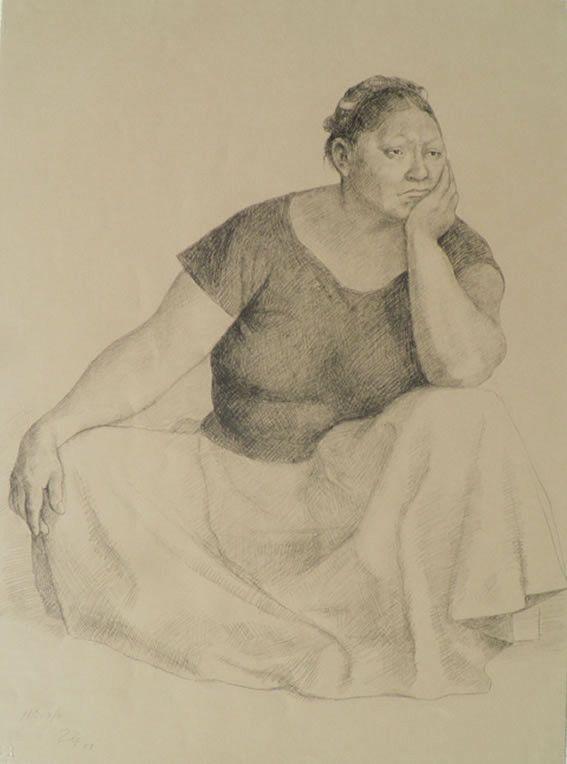 "Francisco Zúñiga - ""Woman Seated"""