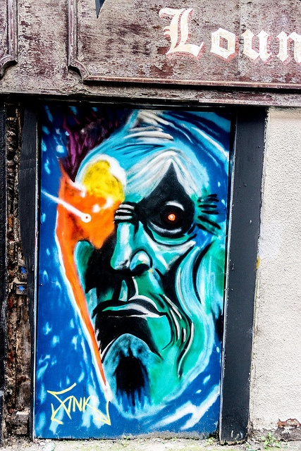 Street Art & Graffiti (Francis Street area Of Dublin) by infomatique, via Flickr
