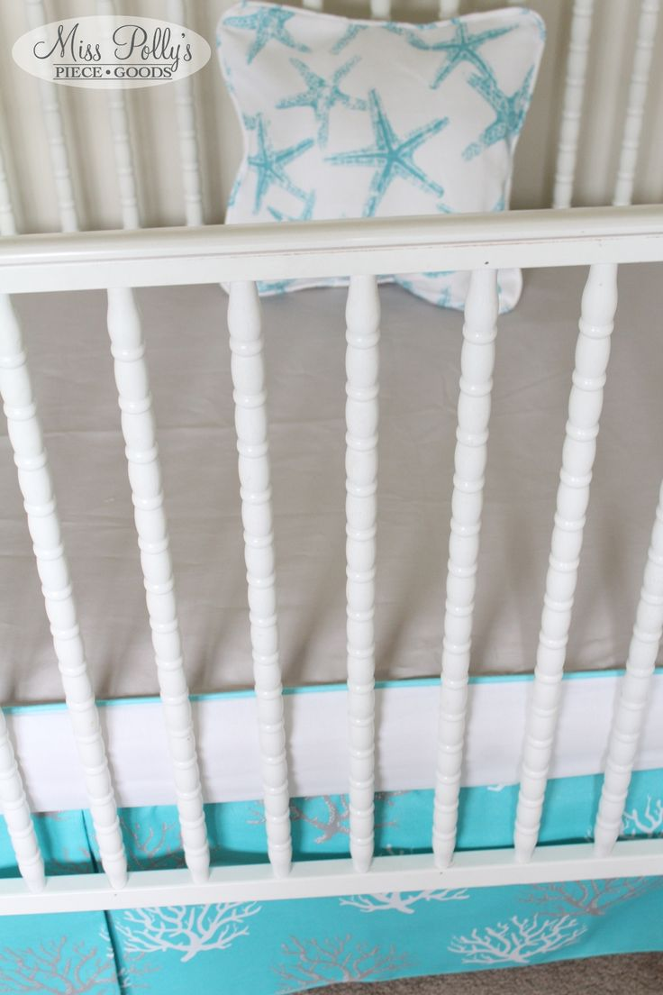 Zellers baby cribs - This Bumperless Set Features All In One Sheet Accent Pillow And Tailored Skirt