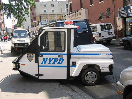 Nypd I Loved Driving This 3 Wheel Scooter Around My