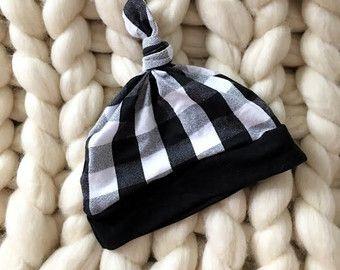Sombrero bebé Slouchy Beanie  nudo superior  gorrita tejida