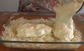 Zemiaky zapečené s kuracím mäsom: Keď som ich prvýkrát ochutnala, hneď som si pýtala recept! Toto jedlo púta pozornosť celej rodiny už keď sa pečie v rúre - Báječná vareška