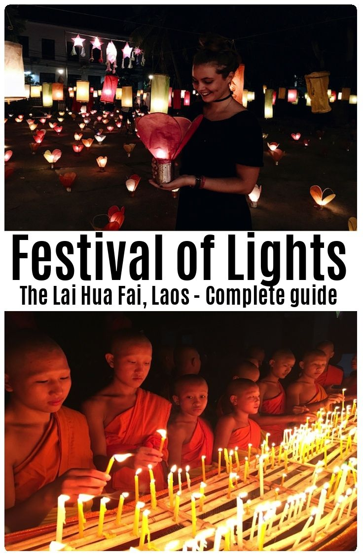 Complete guide to the Festival of Lights (The Lai Hua Fai), Laos