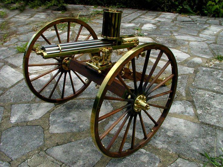 1874 Gatling Gun Blueprints - docpoks