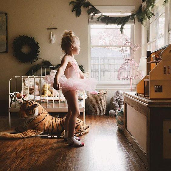 little ballerina | wild bedroom & guarding tiger | littles