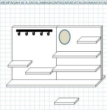 DIY イベント用のディスプレイラック1|FLEURI blog**ナチュラルアンティークなアクセサリー**