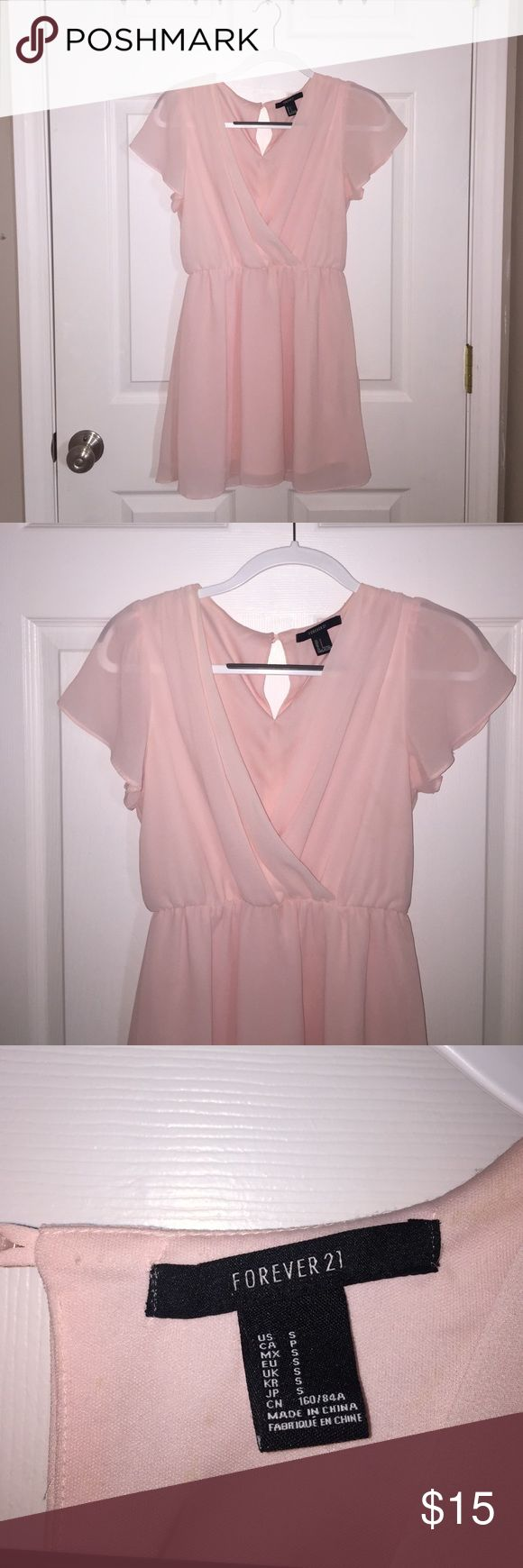 Forever 21 S Light Pink Dress Forever 21 S Light Pink Dress, used, excellent condition Forever 21 Dresses