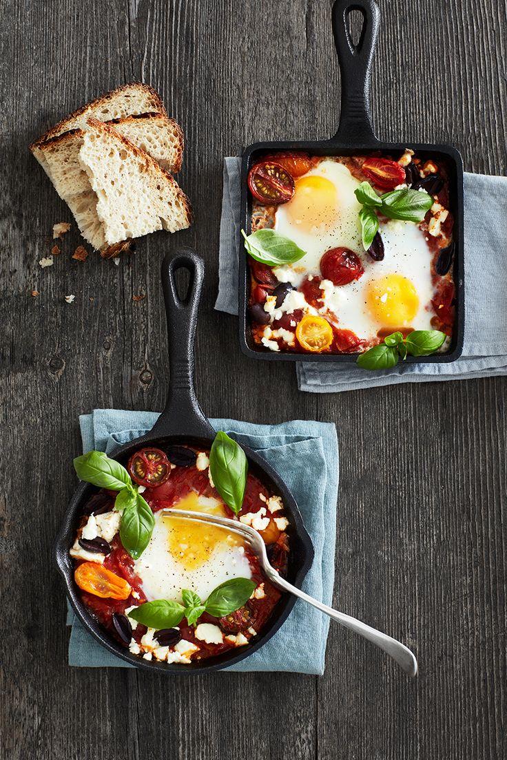 257 best greek food images on pinterest baguette blogging and baked greek eggs by nicola millbank of millys real food cookbook forumfinder Choice Image
