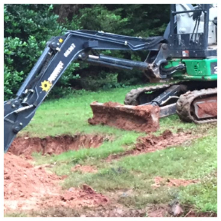 Prior to pumping, Action Septic Tank Service excavated a tank in Milton, GA. For more info and service, call 770-922-1434 and visit actionseptictankservice.com.