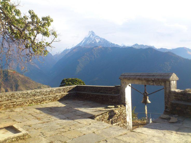 Ghandruk, Meshram Barah Temple #trekking #Gurung #village #Ghandruk #Ghandrung #hospital #travel #temple