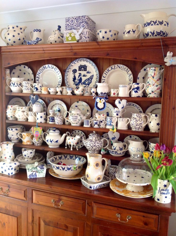 This is a beautiful Emma Bridgewater collection.