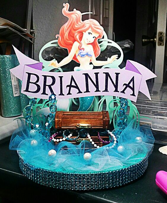 Little Mermaid Centerpiece Ideas Wedding: 21 Best Images About Arial Bday On Pinterest