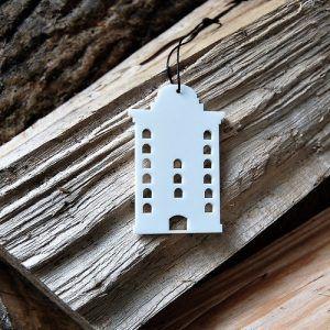 rundetaarn-copenhagen-hvid-cities-ryborg-urban-design-ornament-ophæng-jul-bolig-indretning-denmark-dekoration-souvenir-akryl-dab-boern-gave-bornevarelse-moderne-nordisk-historie-kultur-eventyr