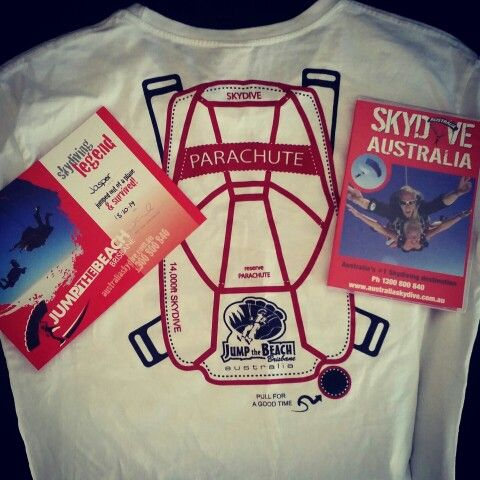 Skydiving Accomplished 18/10/2014 @12:30pm Brisbane Australia time.