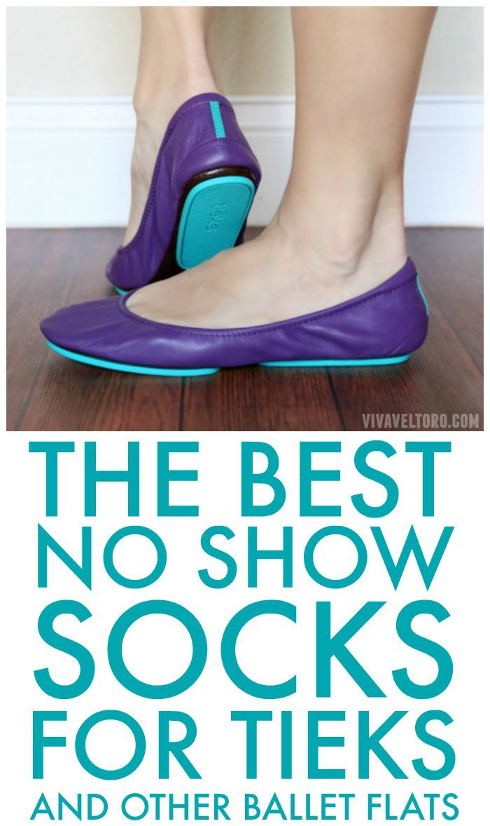 650d2837a5 Love your Tieks ballet flats but prefer to wear socks with them? Here are  the best no show socks for flats (and a few to avoid).