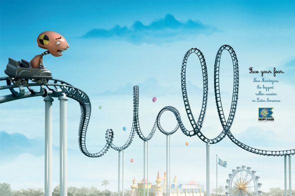 Hopi Hari Theme Park: Roller Coaster, Wall
