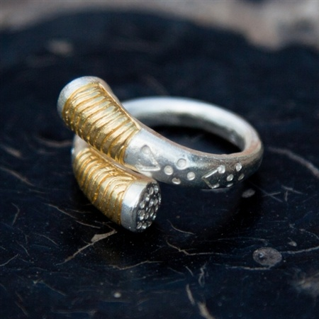 Tuareg ring   by Pantheia  $75
