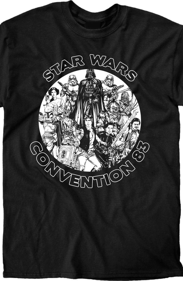 1983 Star Wars Convention Shirt: Mens Star Wars T-Shirts