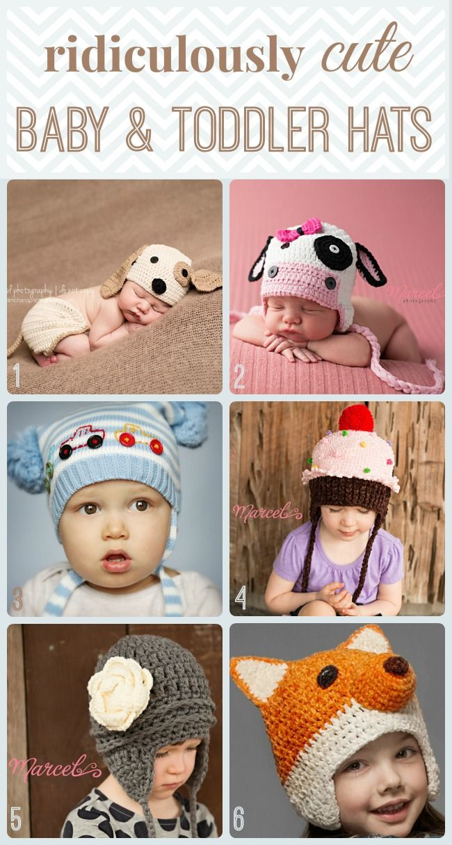 Baby & Toddler Hats from Melondipity