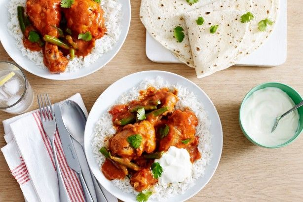 Create your favourite take-away dish at home with this fragrant Indian butter chicken.