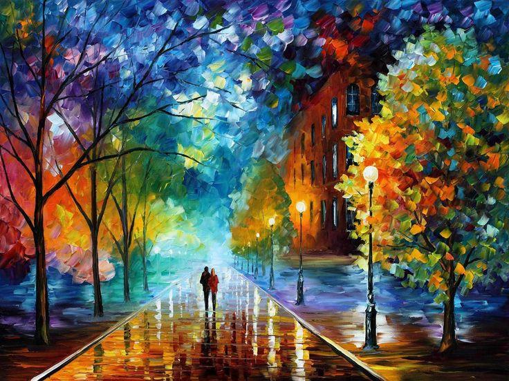¡Sólo hoy! Cualquier pintura al oleo sobre lienzo de Leonid Afremov $99 envío incluido https://afremov.club/collections/oil-paintings