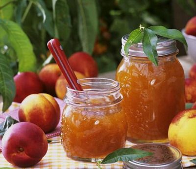nectarine jam with Cinnamon and Pineapple