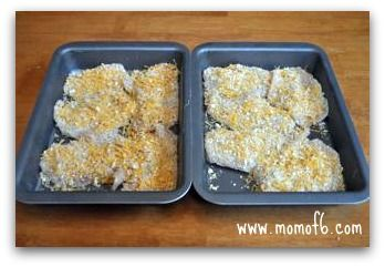 Momof6 Cheddar Ritz Chicken4 Cheddar and Ritz Cracker Chicken {Menu Plan Monday}