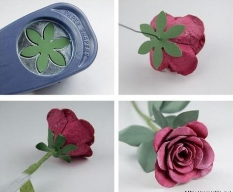 DIY Beautiful Roses from Upcycled Egg Carton Box Paper Crafts Origami, Paper Quilling, Crafts For Seniors, Crafts For Kids, Plastic Bottle Art, Coffee Filter Flowers, Egg Carton Crafts, Rose Decor, Carton Box