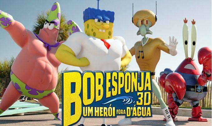 Assistir online filme Bob Esponja Um Herói Fora D'Água – HD 720p Dublado