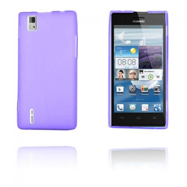 GelCase (Violetti) Huawei Ascend P2 Suojakuori - http://lux-case.fi/gelcase-violetti-huawei-ascend-p2-suojakuori.html