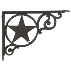 Cast Iron Star Wall Bracket... from Hobby Lobby.