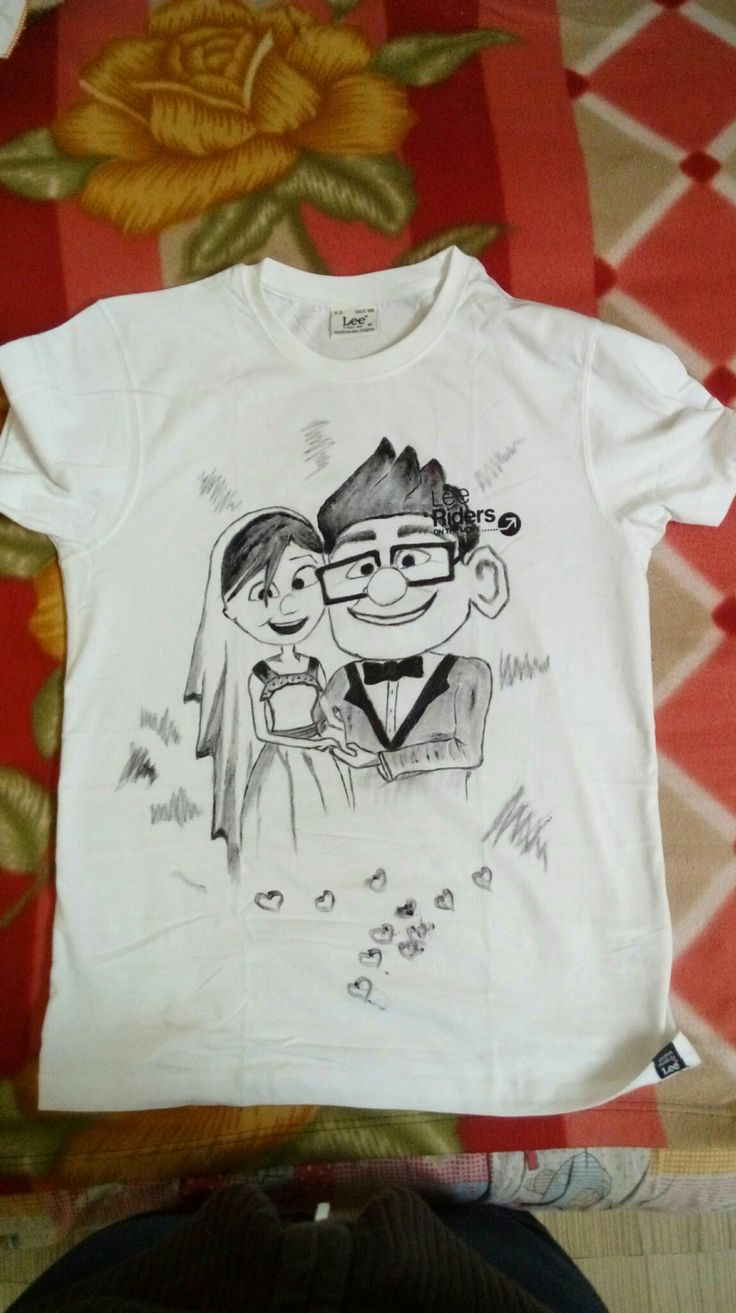 UP for you..tshirt painting
